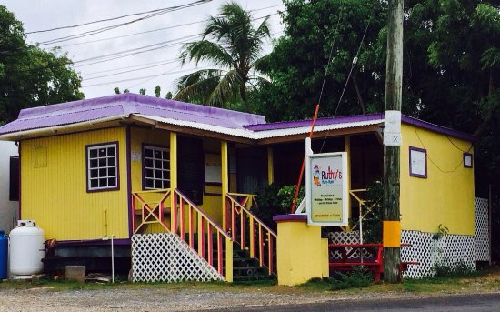 Ruthy's Yum Yum Restaurant is located on the Main Rd headed Shoal Bay East in Little Dix, Anguil