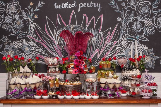 Cafe Hemingways Dessert Table At A Function For 100th Birthday Celebration