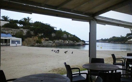 Santandria Playa Hotel: Beach side rustic charm of hotel bistro