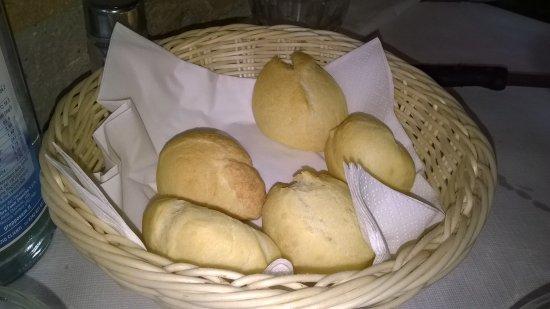 Mondaino, Италия: panini caldi