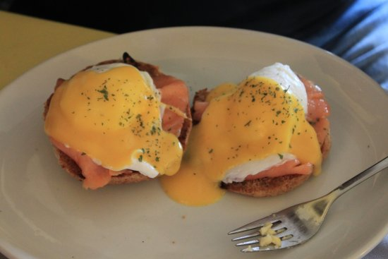 Crosby on Eden, UK: Egg benedict