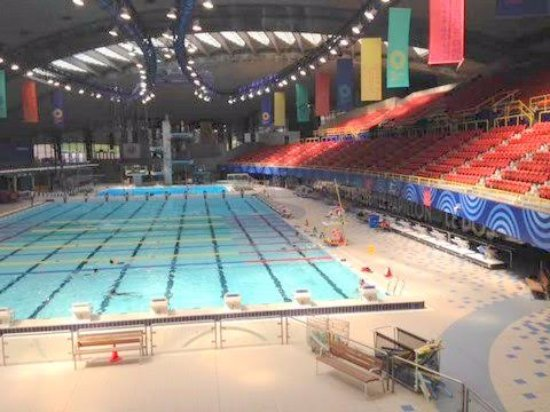Olympic Park Parc Olympique The Swimming Pool