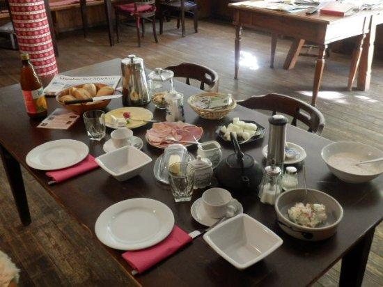 Alta Bavier, Alemania: Frühstück für zwei