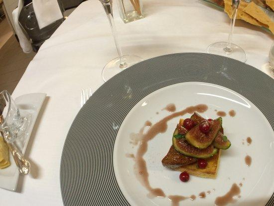 IL Fagiano: Foie gras with figs