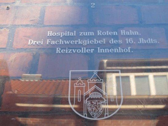 Das Hospital zum Roten Hahn