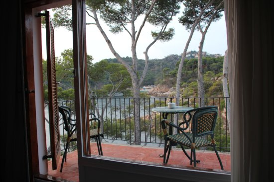 Hotel Aiguablava: Pretty Costa Brava view from some rooms