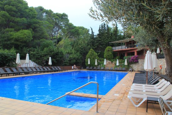 Hotel Aiguablava: Good salt water pool