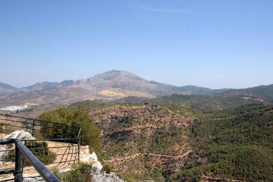 El Burgo, España: Prachtig uitzicht