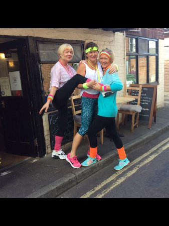 West Malling, UK: Raising money for Macmillan Cancer support.