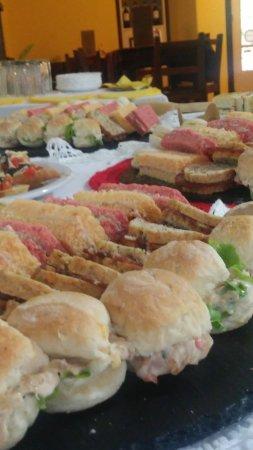 Colonia Department, Uruguay: pancitos saborizados para una ocasión especial...