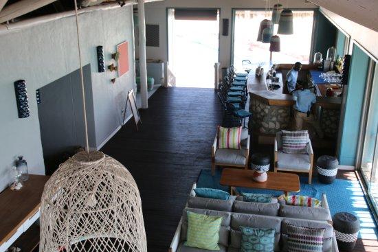 Quirimbas Archipelago, Mozambique: Particolare del bar.