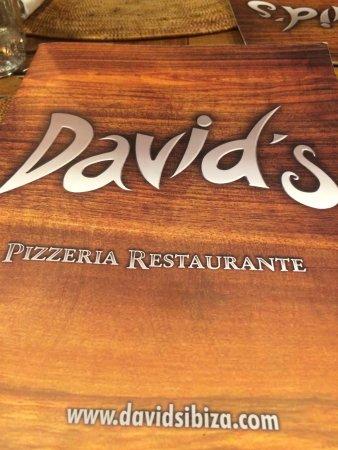 David's: Menu