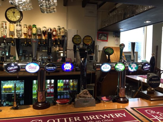 Bishops Lydeard, UK: Selection of Ciders and Lagers
