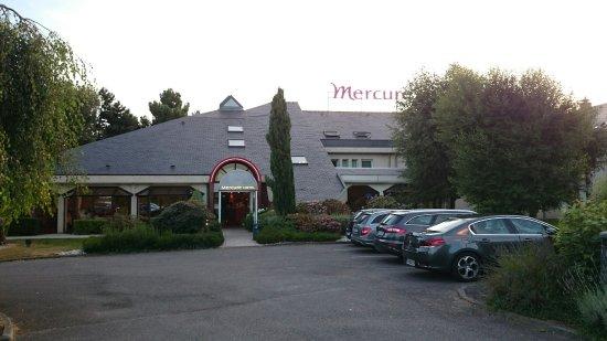 Hotel Mercure Lisieux : Entrén