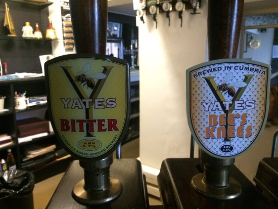 Allonby, UK: Yates being the local brewery there are always two on