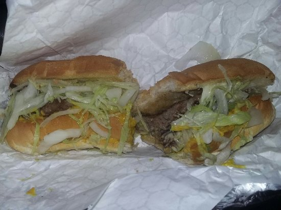 Sutton, MA: Best cheeseburger sub eva