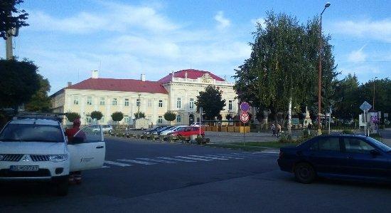 Sahy, Slovakia: Main square