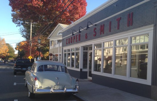 Essex, CT: Cooper & Smith in Autumn