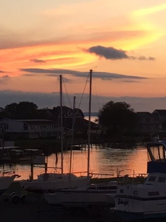 Tilghman, MD: View of the Narrows at sunset
