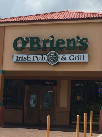 O Brien s Irish Pub & Grill Plant City Restaurant Reviews Phone