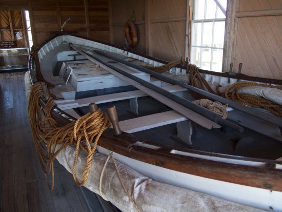 Rodanthe, Carolina do Norte: Historic surf boat, Chicamacomico