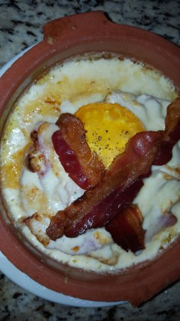 The Julep Cup and Seahorse Lounge: Kentucky hot brown - fantastic!