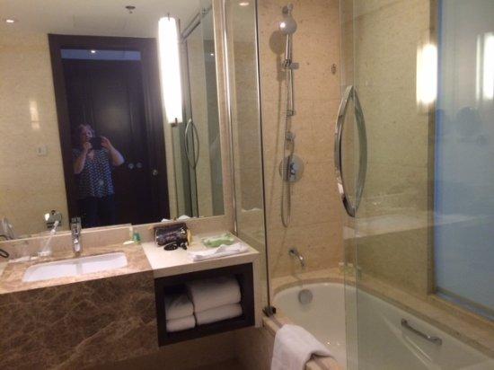 Salle de bain avec WC, pas de séparation ! - Picture of ...