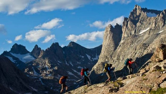 Crowheart, WY: High Altitude Mountain Training Center - Wind River Mountains