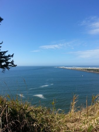 Ilwaco, WA: Mouth of the Columbia River meeting the Pacific Ocean