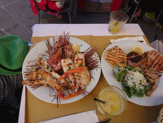 Provincia di Pisa, Italia: Морепродукты и мясо