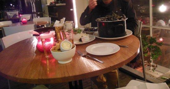 Brasserie NeL: Moules aux légumes