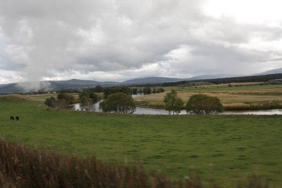 Aviemore, UK: Blik op River Spey
