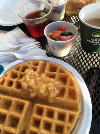 Rockport, ME: Frühstück
