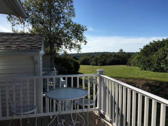 Glen Cove Inn & Suites: rückseitige Terrasse