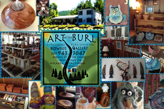 Miranda, Kalifornia: Jewelry, Glass, Pottery, Fiber Art, Metal Art, Fine Art, Photography, and more!