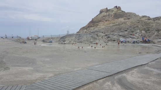 bagno nel fango - Foto di Terme di Vulcano, Isola Vulcano - TripAdvisor