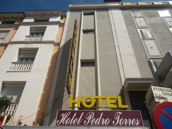 Hotel Pedro Torres: Фасад