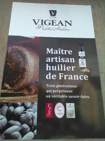 Chatillon-sur-Indre, Francia: Huilerie Vigean