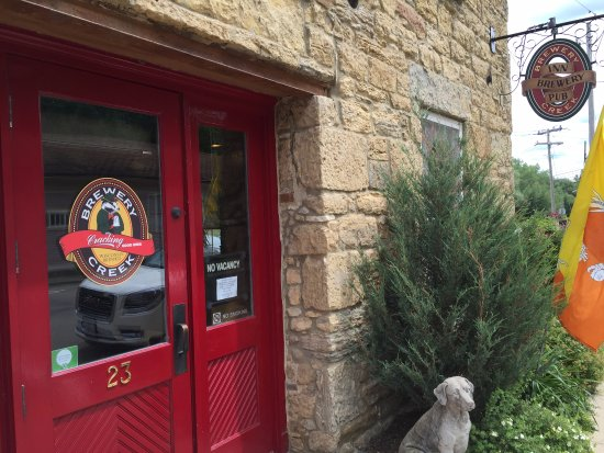 Mineral Point, WI: Brewery Creek Brewpub