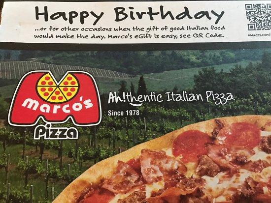 Marco's Pizza Photo