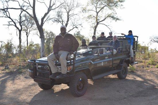 Sabi Sabi Bush Lodge: Our safari crew