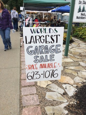 Warrensburg, NY: We come up every year for the Worlds Largest Garage Sale. I wanted to share my pictures and the