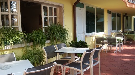 Hotel Al Pescador : Blick auf die Zimmer