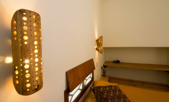 Las Salinas, Nicaragua: Simple and warm private bedrooms