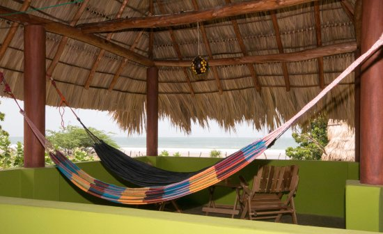 Las Salinas, Nicaragua: Your private roof top terrace equipped with hammocks