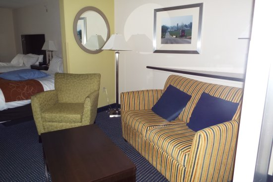 Comfort Suites Amish Country: This is our room