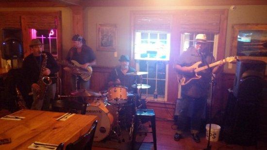 Windham, estado de Nueva York: Blues Band at Hammo's Brew Pub and Lodge