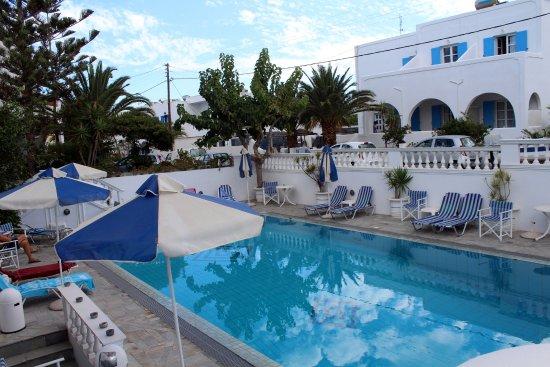Armonia Hotel: zon en schaduw plekken