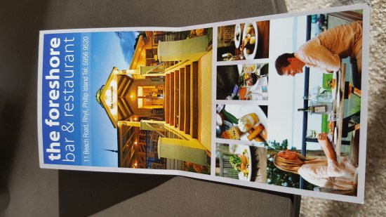 Rhyll, أستراليا: The Foreshore Bar & Restaurant