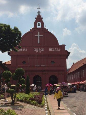 Christ Church: Outside the church